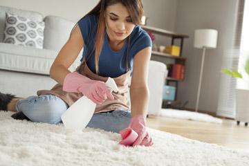 Eigenhändige Reinigung von Orientteppichen
